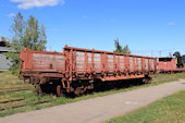 CN Ballast Car 104095 (09.09.2018, Hillsborough, NB, - New Brunswick Railway Museum)