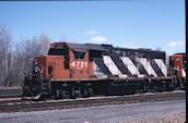 CN GP38-2 4721 (05.2004, Brockville, ON)