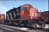 CN GP9RM 4008:2 (04.1989, Brockville, ON)