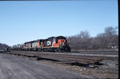 CN GP9RM 4018 (03.2006, Brockville, ON)