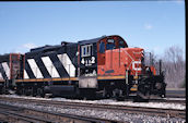 CN GP9RM 4112:2 (05.2004, Brockville, ON)