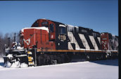 CN GP9RM 4119:2 (17.12.2007, Brockville, ON)