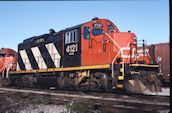 CN GP9RM 4121:2 (21.10.1990, Brockville, ON)