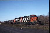 CN GP9RM 4129:2 (09.2006, Brockville, ON)