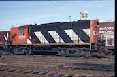 CN RS18 3660 (10.07.1982, Bathurst, NB)