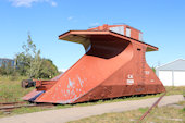 CN Snow Plow 55698 (09.09.2018, Hillsborough, NB, - New Brunswick Railway Museum)