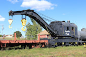 CP Crane 414324 (09.09.2018, Hillsborough, NB, - New Brunswick Railway Museum)