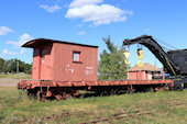 CP Idler Car 412722 (09.09.2018, Hillsborough, NB, - New Brunswick Railway Museum)