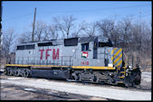 TFM SD40-2r 1416 (01.02.2008, Kansas City, KS)