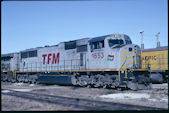 TFM SD70MAC 1653 (27.10.2007, Council Bluffs, IA)