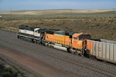 BNSF SD70MAC 9931 (12.09.2013, b. Bill, WY)