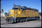 UP GP40-2 1402:4 (31.01.2009, El Centro, CA)