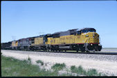 UP SD60M 6165 (10.06.1996, Bill, WY)