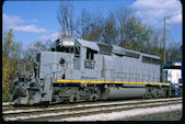 WE SD40-2 6357 (25.10.2014, Akron, OH)