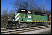 WE SD40-2 6388 (18.11.2016, Akron, OH)
